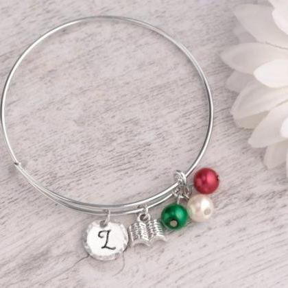 Hand stamped best teacher bracelet ..